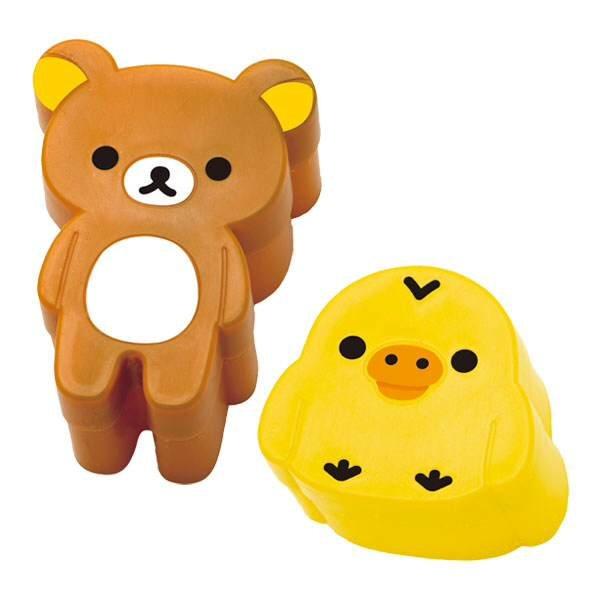 =優生活=日本拉拉熊 懶懶熊DIY飯糰模具 廚房用具 麵包造型模具 餅乾模具 吐司模具
