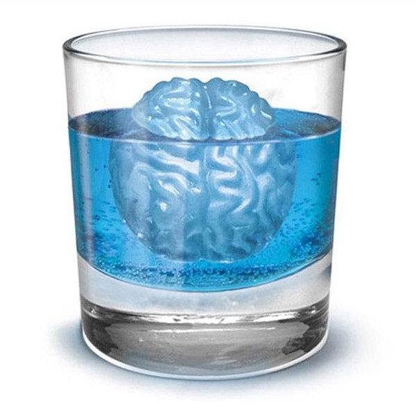 =優生活=大腦製冰盒 矽膠製冰 巧克力模具 廚房創意 果凍模型 冰塊