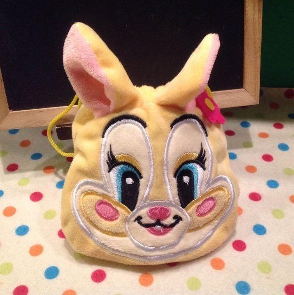 =優生活=迪士尼邦妮兔束口袋 收納袋 化妝包 衛生棉包