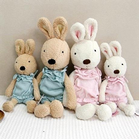 =優生活=日本正品 le sucre 砂糖兔 法國兔娃娃 滿月禮物 結婚禮物 情人節禮物 嬰兒裝款 30公分