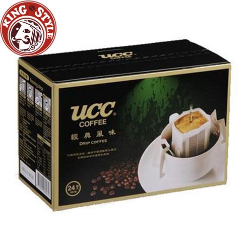 金時代書香咖啡【UCC】經典風味濾掛式咖啡 8g*24入