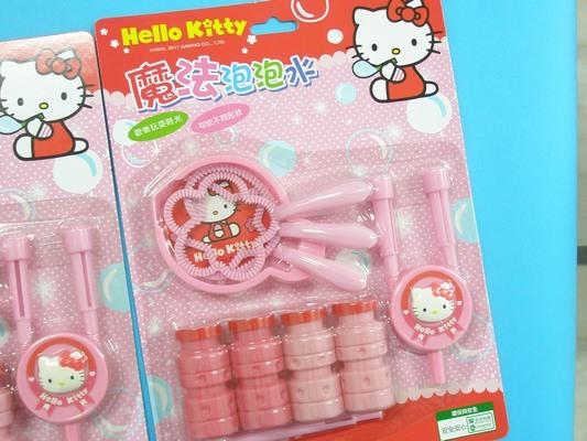 Hello Kitty凱蒂貓魔法泡泡水.KT吹泡袍水組/一組入{促120}