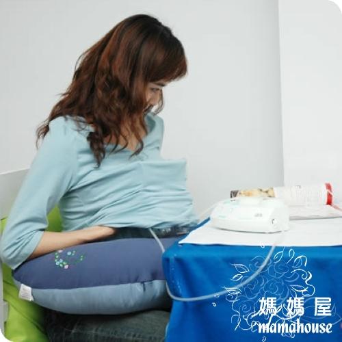 《妳心親密餵奶墊.氣質藍》 哺乳枕.孕婦枕.學坐枕.U型枕.C型枕.輔助枕.支撐枕.擠乳枕.擠奶枕