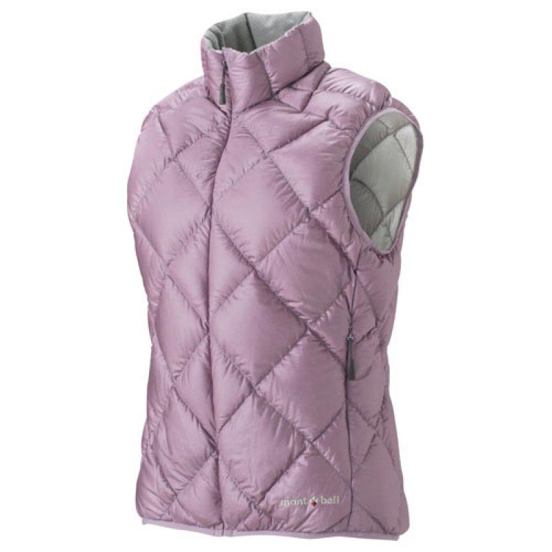 【露營趣】中和 Mont-Bell 1101364 Light Alpine 輕量羽絨背心 女款 芋紫色