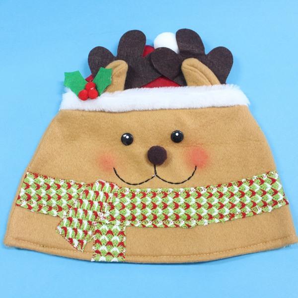 造型聖誕帽 麋鹿造型帽(圍巾)/一個入{促80}~5847