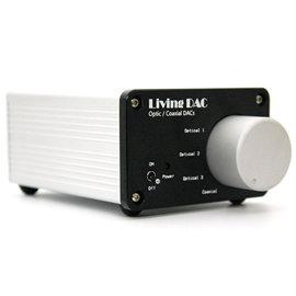 志達電子 Living DAC 電光火石 多段輸入DAC 192Khz/24Bit DAC,三組光纖/一組同軸/一組RCA輸出