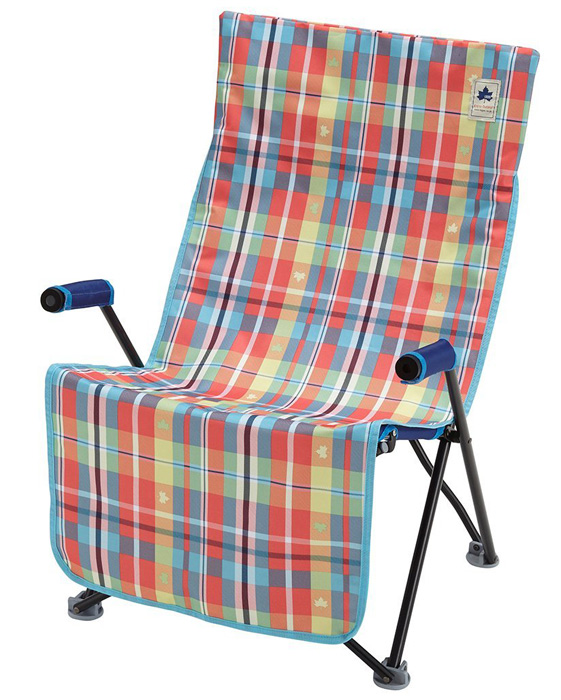 【鄉野情戶外專業】 LOGOS |日本|  愛麗絲格紋防水椅套-紅/座椅墊 適用LG73174029/LG73173048