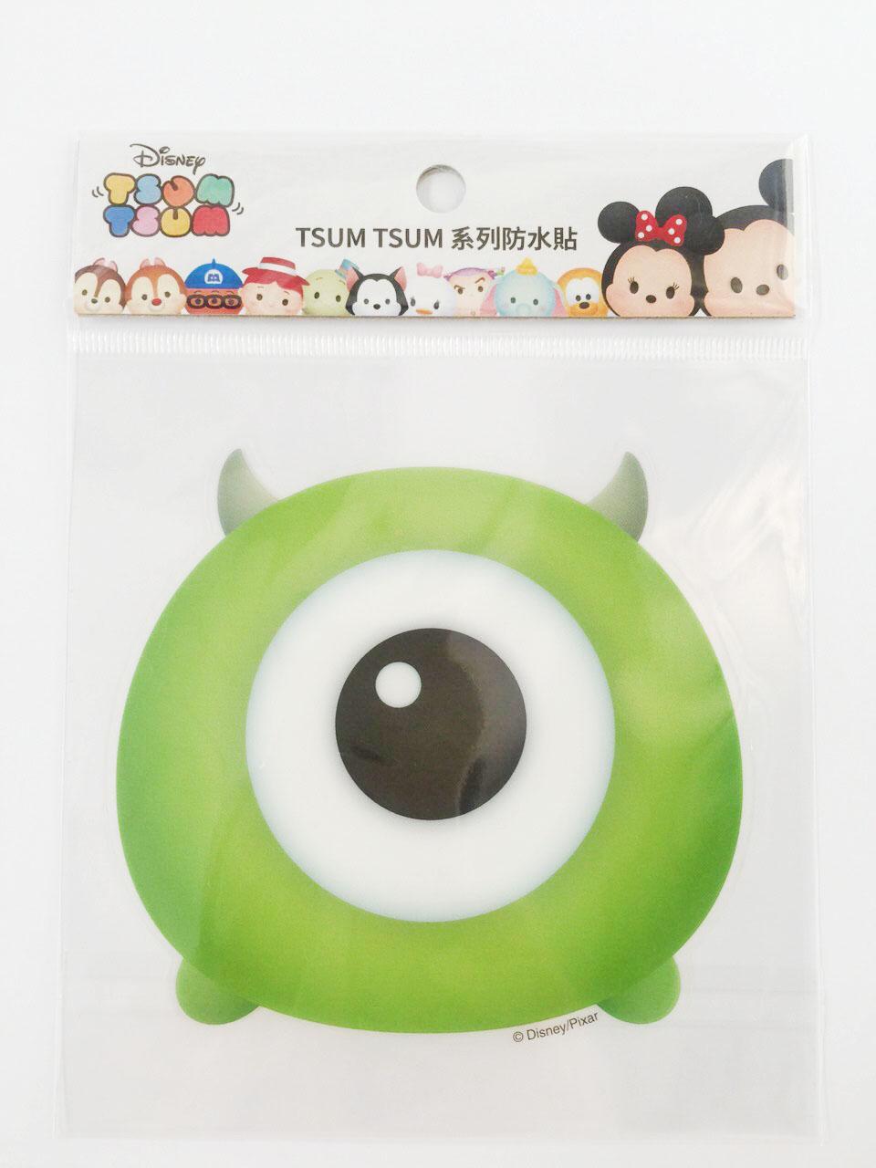 【真愛日本】16011200041  TSUM防水貼紙-大眼仔  怪獸大學 毛怪 迪士尼 裝飾貼紙 PVC 貼紙