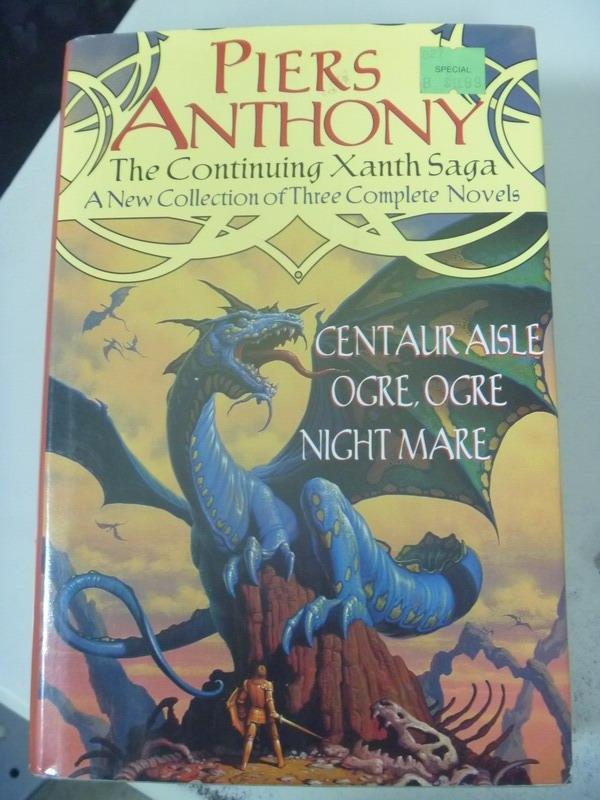 【書寶二手書T6/原文小說_XDK】The Continuing Xanth Saga_Piers Anthony