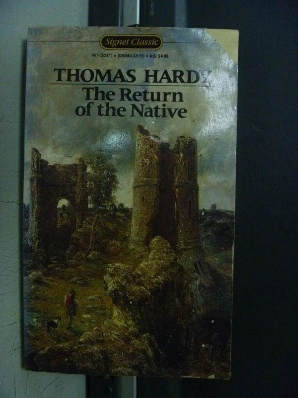 【書寶二手書T4/原文小說_OEM】The Return of the Native_Thomas Hardy