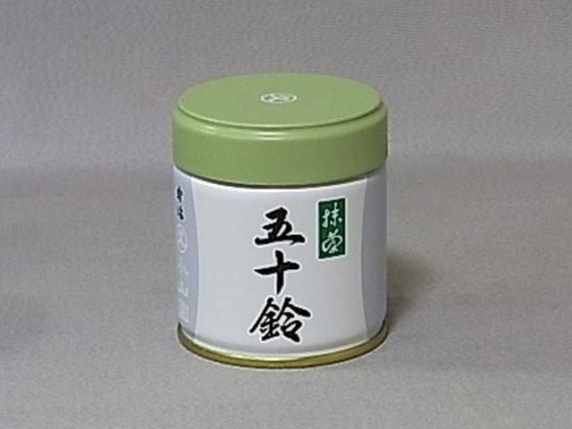 【海洋傳奇】日本丸久小山園抹茶粉五十鈴 40g罐裝 宇治抹茶粉 薄茶 烘焙抹茶粉