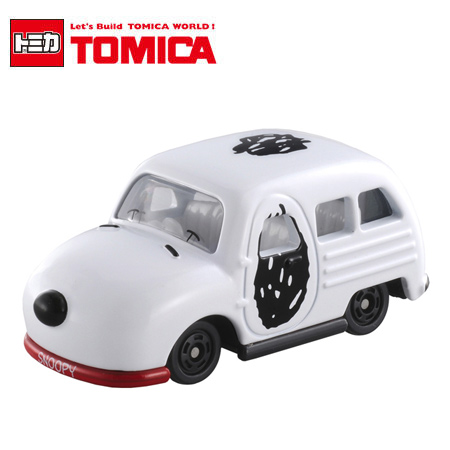日貨 Dream TOMICA No.153 史努比車 SNOOPY Dream 多美小汽車【N201652】
