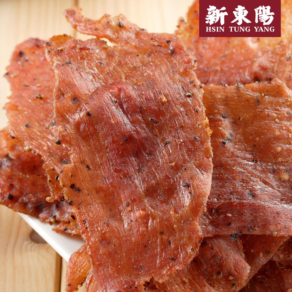【新東陽】黑胡椒薄片豬肉乾50g
