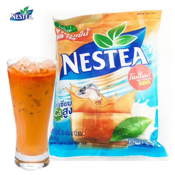 (特價) 泰國 雀巢 三合一 泰式奶茶 35g*13包/袋 泰國進口貨