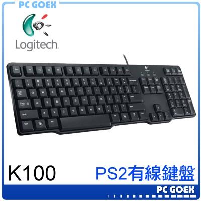 羅技 Logitech 經典鍵盤 K100 /PS2 ☆pcgoex 軒揚☆