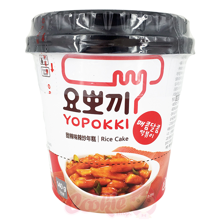 韓國 YOPOKKI 辣炒年糕杯 隨身杯(140g)【庫奇小舖】