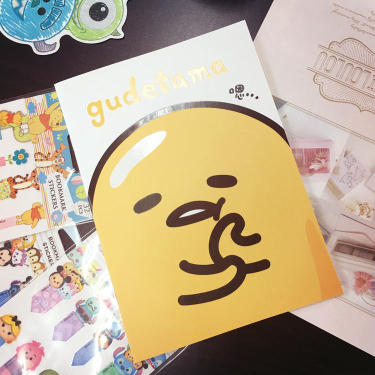 PGS7 (現貨+預購) 日本三麗鷗系列 - 三麗鷗 蛋黃哥 25K (小) 筆記本 日記本
