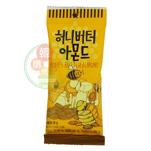 【韓購網】韓國TomeGilim蜂蜜奶油杏仁果35g★香甜脆的滋味★韓國零食