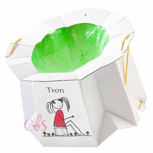 日本製 兒童用外出攜帶便座 簡易移動紙廁所 適用1~6歲☆艾莉莎ELS☆