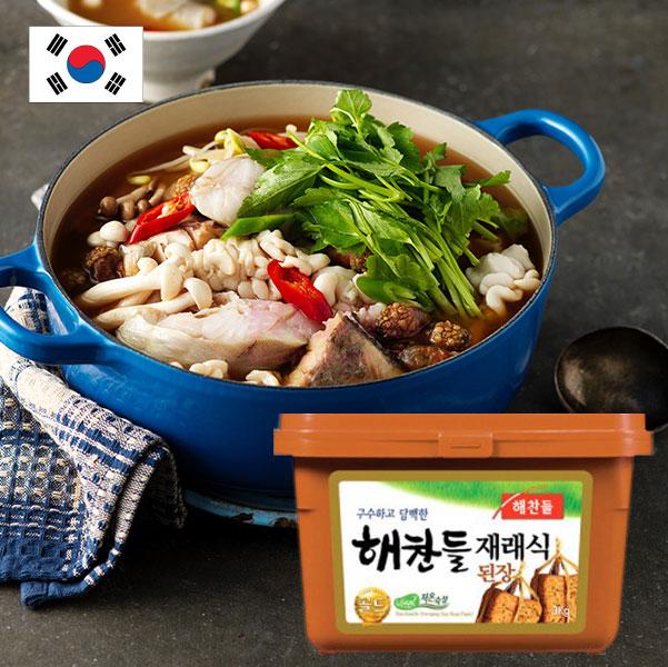 韓國 Haechandle 味噌醬(傳統大醬) 500g 【特價】§異國精品§