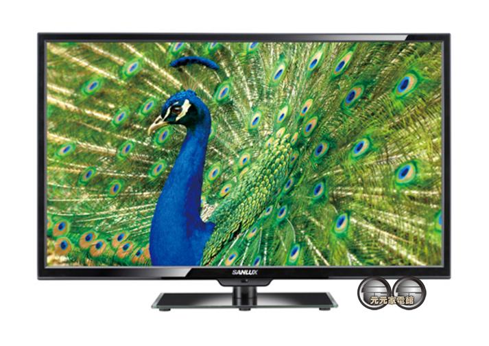 【SANLUX 台灣三洋】 24吋LED背光液晶電視+視訊盒 SMT-24MV7~配送不安裝~缺貨中~