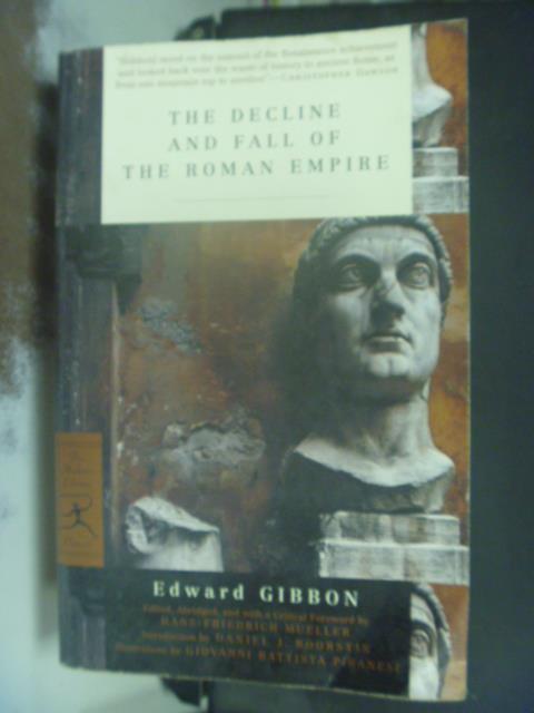 【書寶二手書T1/歷史_KHN】The Decline and Fall of the Roman Empire