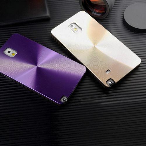 三星 Galaxy A7 鐳射旋轉CD紋手機硬殼 Samsung A7000 金屬質感背殼新款潮流保護殼【預購】