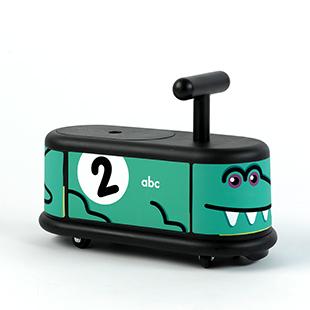 Italtrike La Cosa1滑步車-綠鱷魚
