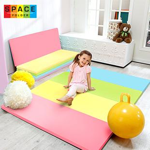 Parklon SpaceFolder Candy遊戲地墊★可折成沙發★