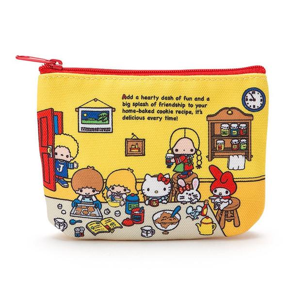 【真愛日本】16081000026拉鍊零錢面紙包-MX70s房間    三麗鷗 Hello Kitty 凱蒂貓  萬用包 收納包 面紙包