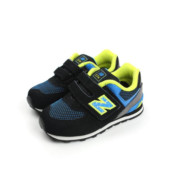 New Balance 574系列 休閒鞋 黑 小童 no892
