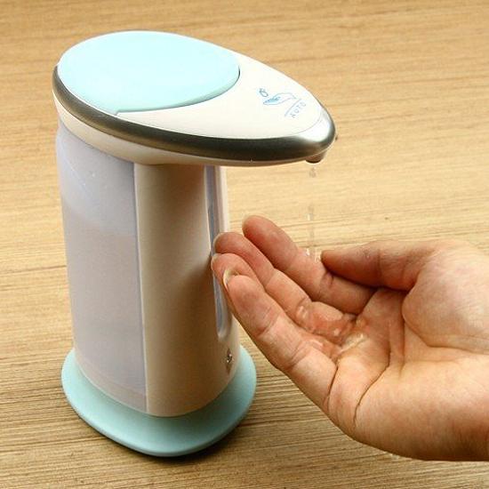 ♚MY COLOR♚自動感應皂液機 洗手 乾淨 衛生 兒童 洗手台 桌面 紅外線 自動感應【R68-1】