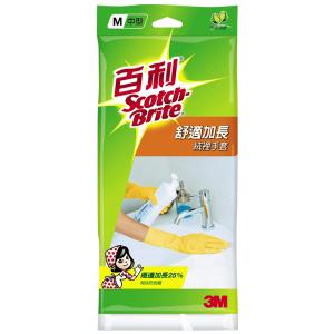 【3M 百利】 LC-G38  舒適加長型絨裡手套 (M)