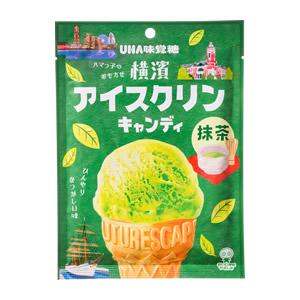 日本UHA味覺糖  橫濱冰淇淋糖果-抹茶   日本進口
