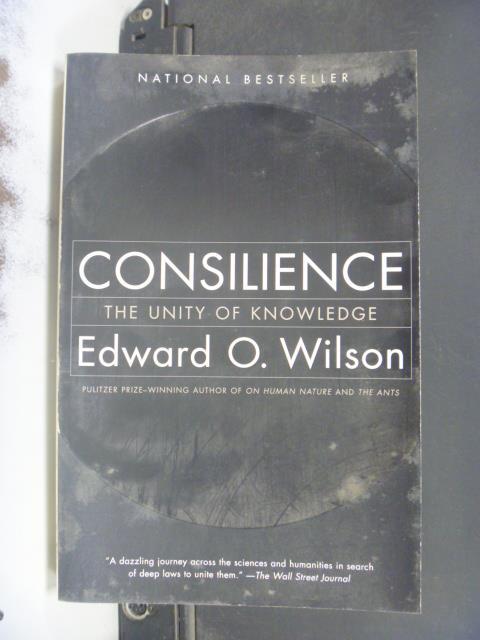 【書寶二手書T1/原文小說_KHP】Consilience: The Unity of Knowledge