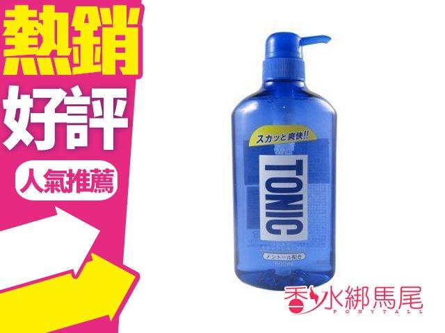 日本石鹼 TONIC 清涼爽快洗髮精 600ml◐香水綁馬尾◐