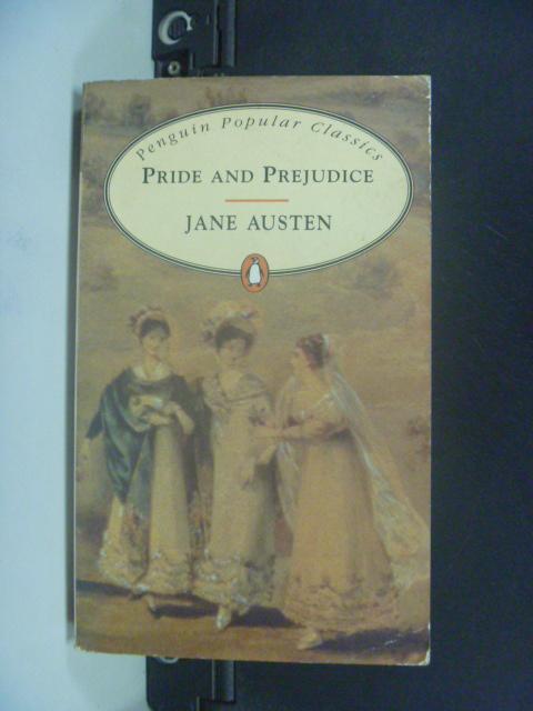 【書寶二手書T9/原文小說_KDS】Pride and prejudice_Jane Austen