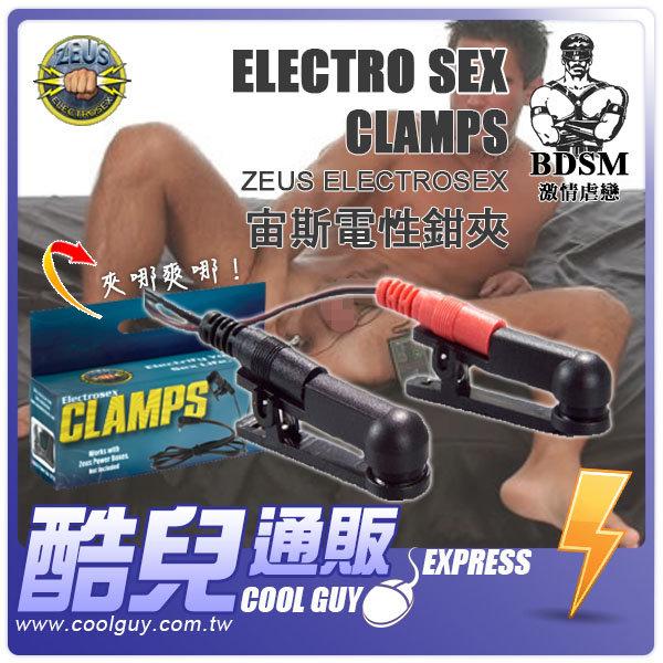 美國 ZEUS ELETROSEX 宙斯電性鉗夾 Electro Sex Clamps 美國原裝進口 Powerbox 專屬配件