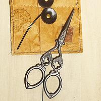 日本古典復古風剪刀-迷你十字款