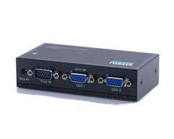 [良基電腦] HANWELL 捍衛科技 VSA-102 1對2 VGA 高頻視訊同步分配器 [天天3C]