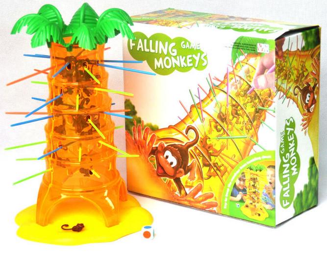 跳跳猴大挑戰疊疊樂 猴子抽抽樂 桌遊 *夏日微風*