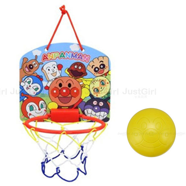 麵包超人 Anpanman 籃框玩具 投球投籃丟球遊戲 玩具 正版日本進口 * JustGirl *