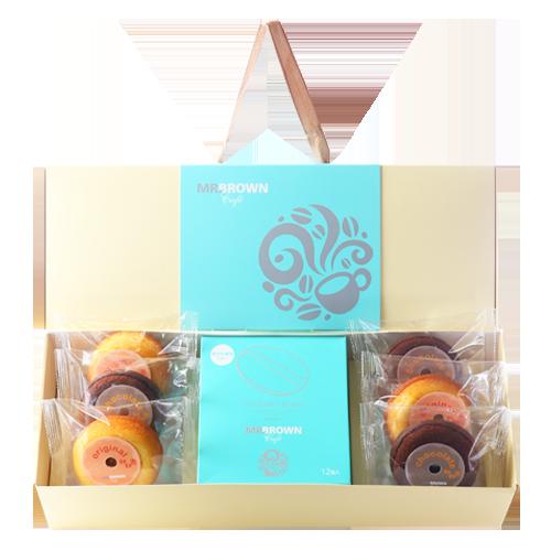 伯朗臻品禮盒-醇品甜甜圈版