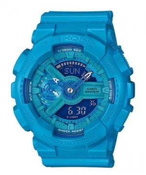 國外代購 CASIO G-SHOCK 縮小系列 GMA-S110VC-2A 天空藍 防水 手錶 腕錶 電子錶 男女錶