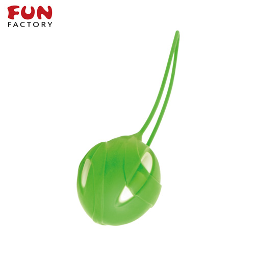 ◤按摩棒情趣按摩棒變頻按摩棒◥德國Fun Factory*SMARTBALLS teneo-uno 聰明球球單球uno(白/鮮綠) 【跳蛋 名器 自慰器 按摩棒 情趣用品 】