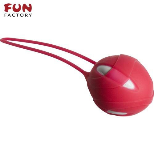 ◤按摩棒情趣按摩棒變頻按摩棒◥德國Fun Factory*SMARTBALLS teneo-uno 聰明球球單球uno(白/紅) 【跳蛋 名器 自慰器 按摩棒 情趣用品 】