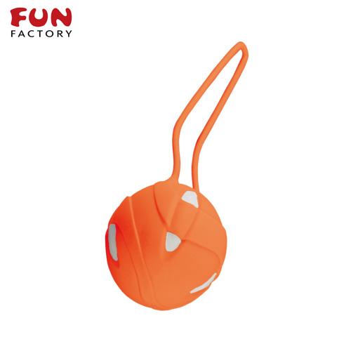 ◤按摩棒情趣按摩棒變頻按摩棒◥德國Fun Factory*SMARTBALLS teneo-uno 聰明球球單球uno(白/橘) 【跳蛋 名器 自慰器 按摩棒 情趣用品 】