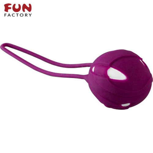 ◤按摩棒情趣按摩棒變頻按摩棒◥德國Fun Factory*SMARTBALLS teneo-uno 聰明球球單球uno(白/葡萄紫) 【跳蛋 名器 自慰器 按摩棒 情趣用品 】