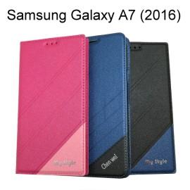 【My Style】都會隱磁皮套 Samsung Galaxy A7 (2016) A710Y