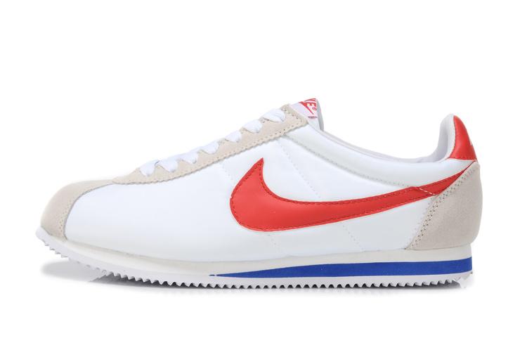 Nike 阿甘跑步鞋 經典款 白校園紅 男女鞋
